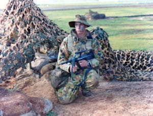 Nathan Newlands Military